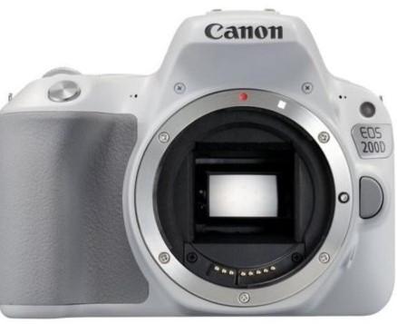 Canon EOS 200D Body Silver (kit box)