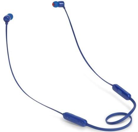 JBL Tune 110BT Wireless In-Ear Headphones (Blue)