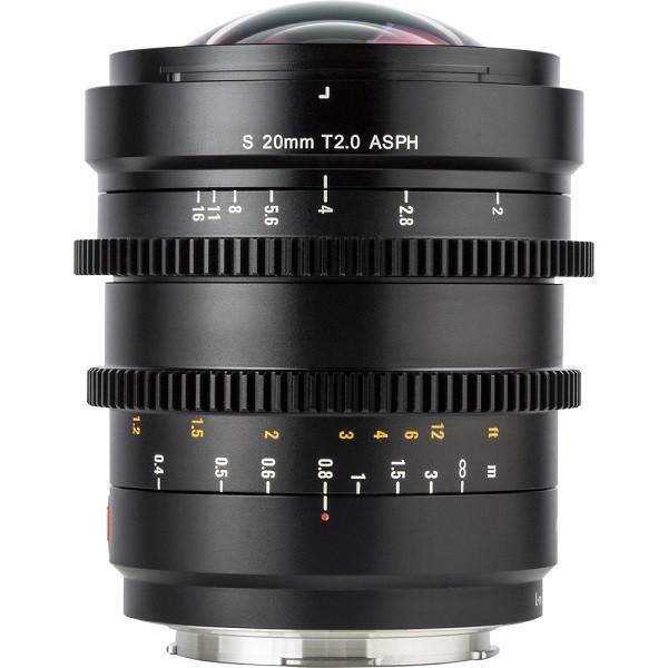 Viltrox S 20mm T2.0 Cine Lens (L mount)