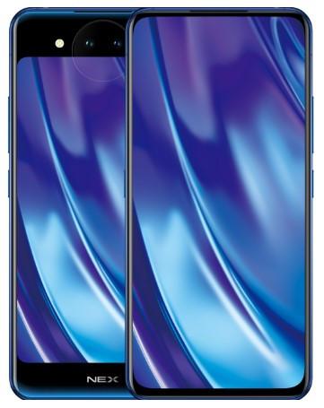 Vivo Nex Dual Display Dual Sim 128GB Polar Blue (10GB RAM)