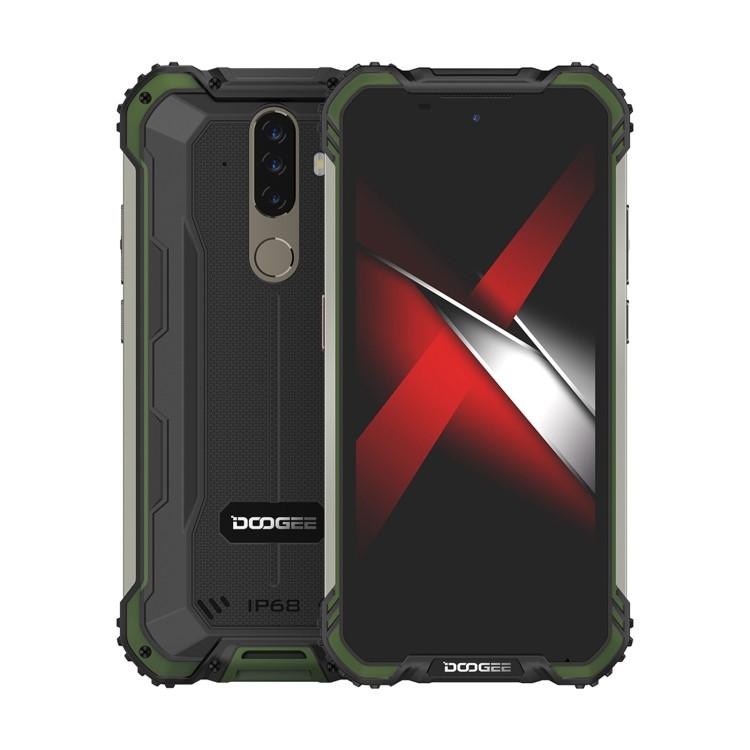 DOOGEE S58 Pro Triple Proofing Phone 64GB Green (6GB RAM)