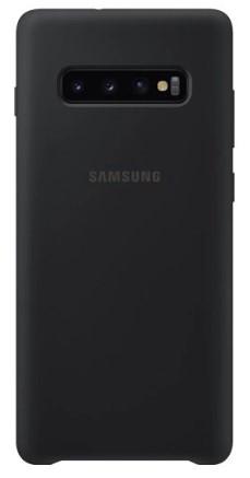 Samsung Galaxy S10 Silicon Phone Cover (Black)