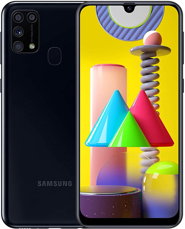Samsung Galaxy M31 Dual Sim M315FD 128GB Black (6GB RAM)