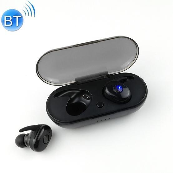 L11 TWS Bluetooth 5.0 Wireless Headset with Charging Box (Black)