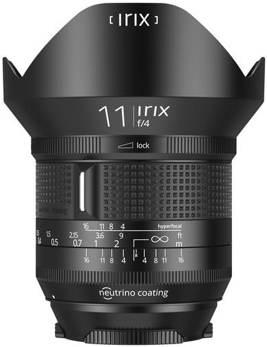Irix Lens 11mm F/4 Firefly (Canon)