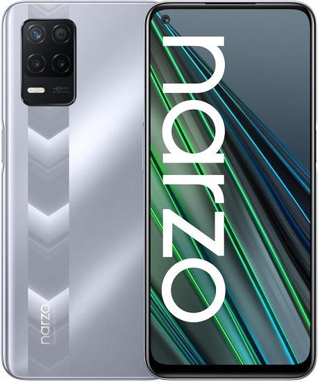 Realme Narzo 30 5G Dual Sim 128GB Racing Silver (4GB RAM)