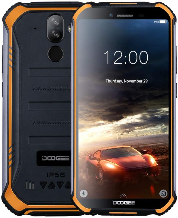 Doogee S40 Rugged Phone Dual Sim 32GB Orange (3GB RAM)