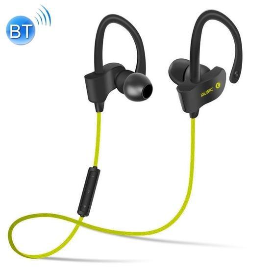 BTH-H5 Stereo Sound Quality V4.1 + EDR Bluetooth Headphone (Green)