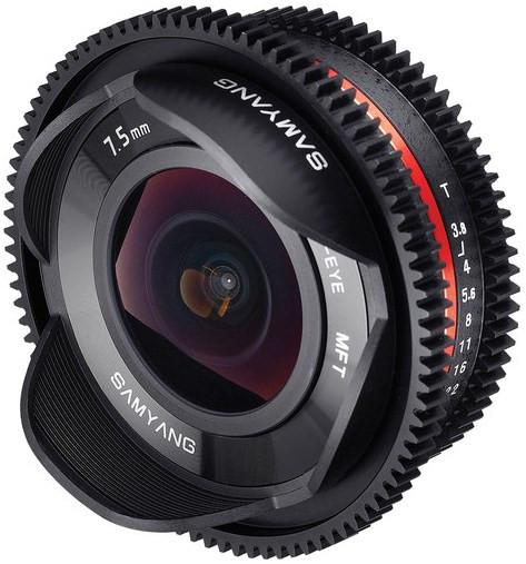 Samyang 7.5mm T3.8 Cine UMC Fish-eye Silver (M4/3)
