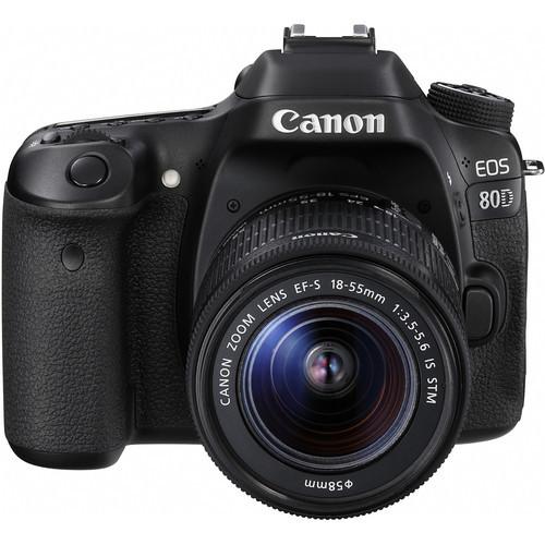 Canon EOS 80D Kit (18-55)