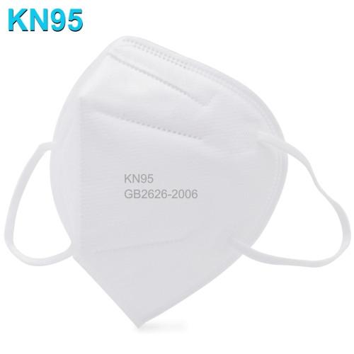 CE/FDA/FFP2 Certified Civil KN95 n95 Self-Priming Filter Respirator Virus Protective Face Mask(White)