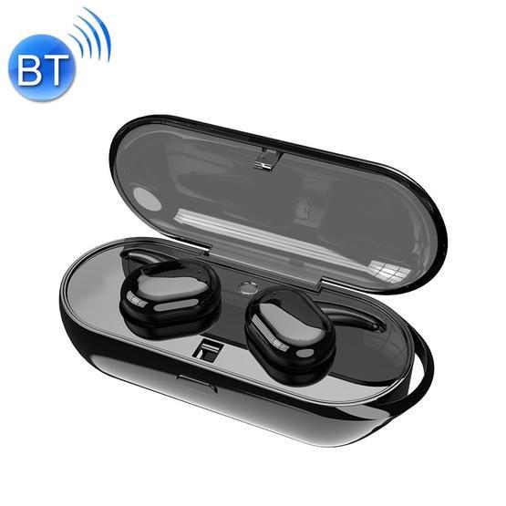 TWS 5.0 Binaural Wireless Touch Sensor Bluetooth Headset (Black)
