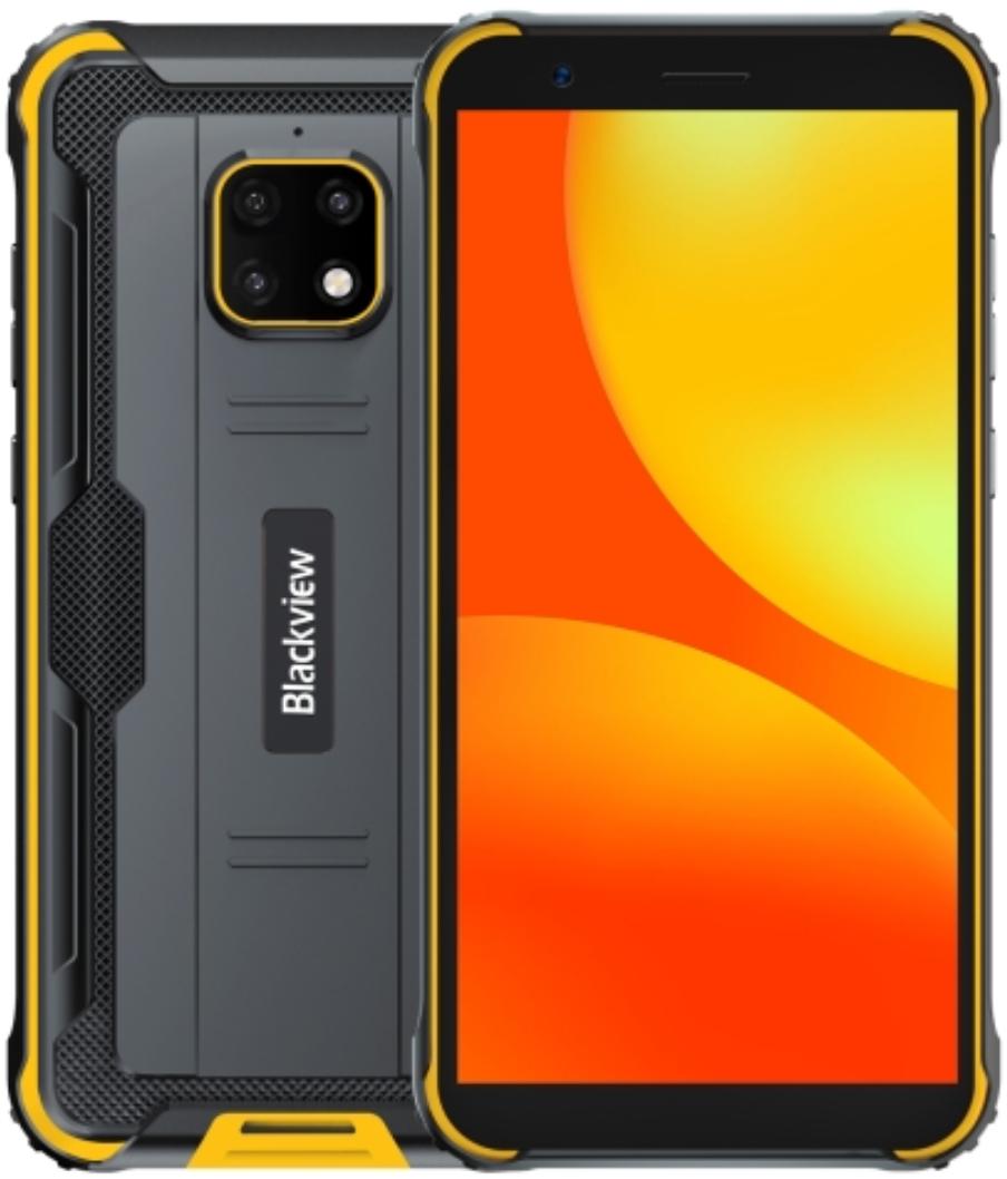 Blackview BV4900 Rugged Phone Dual Sim 32GB Yellow (3GB RAM)