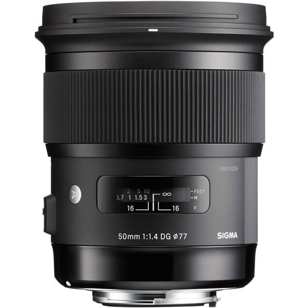 Sigma 50mm F1.4 DG HSM | Art (Sigma SA)