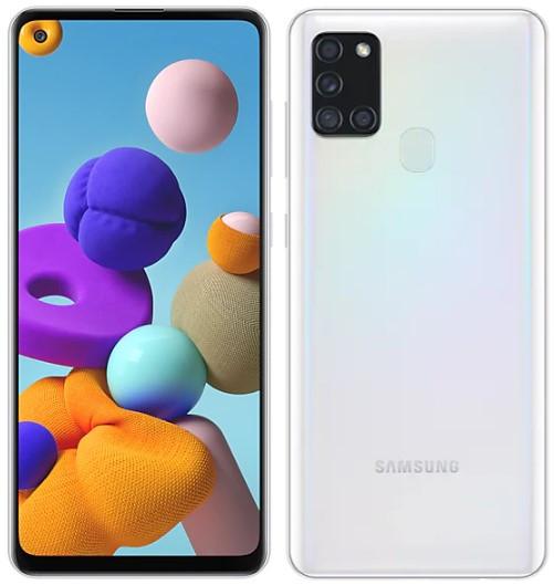 Samsung Galaxy A21s Dual Sim A217F 64GB White (6GB RAM)