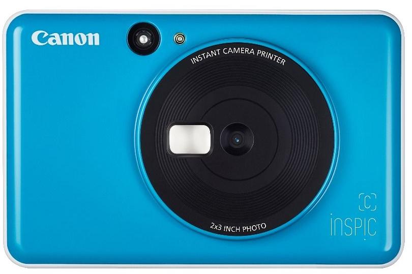 Canon iNSPiC (C) CV-123A Instant Camera Blue
