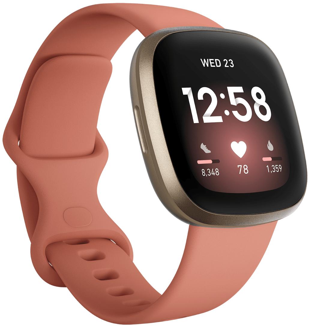 Fitbit Versa 3 Rose/Soft Gold Aluminium