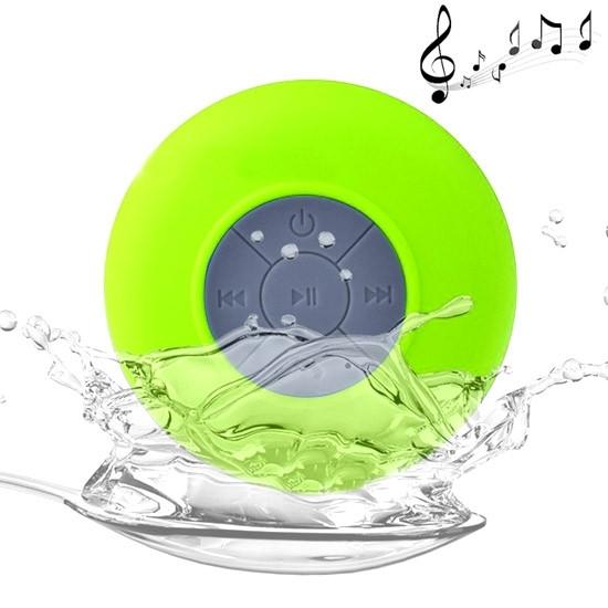 BTS-06 Mini Waterproof IPX4 Bluetooth V2.1 Speaker (Green)