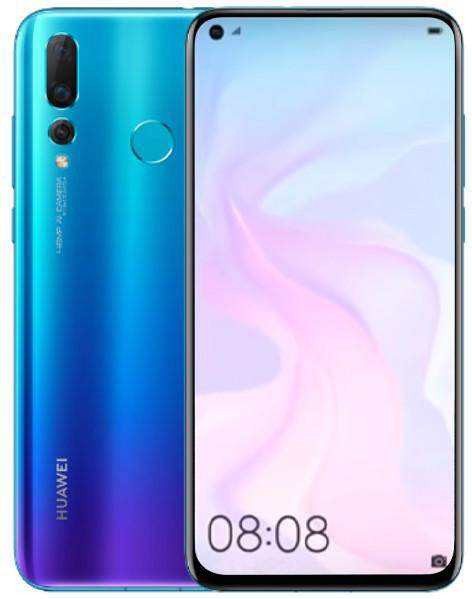 Huawei Nova 4 48MP Dual Sim 128GB Blue (8GB RAM)