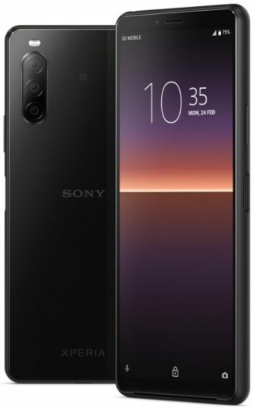Sony Xperia 10 II XQ-AU52 Dual Sim 128GB Black (4GB RAM)