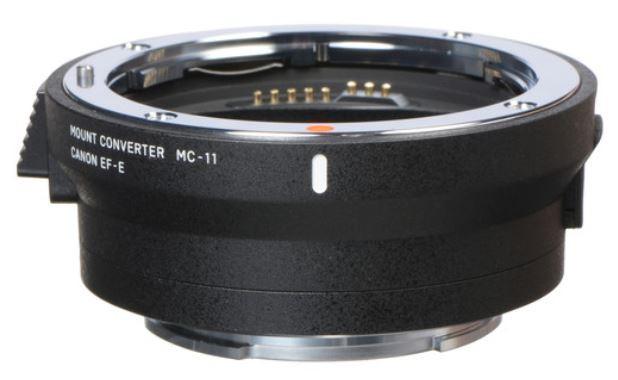 Sigma mount converter MC-11 (Canon to Sony E)