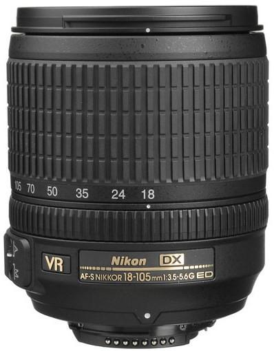 Nikon AF-S DX 18-105 f/3.5-5.6G ED VR (White box)