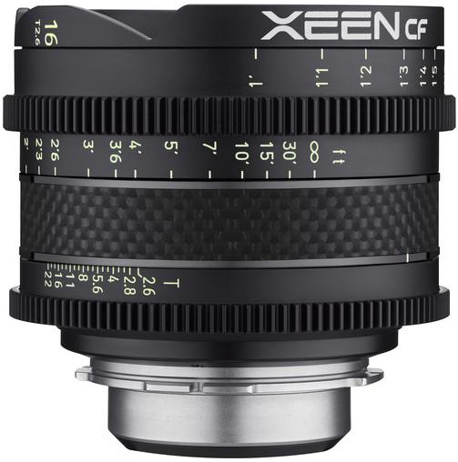Samyang Xeen CF 16mm T2.6 (PL mount)