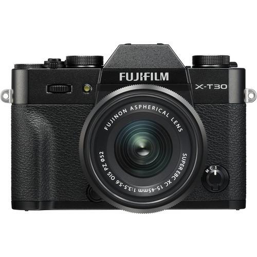 Fujifilm X-T30 Kit (XC 15-45mm f/3.5-5.6 OIS PZ) Black