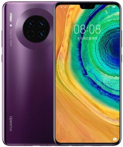 Huawei Mate 30 TAS-AN00 Dual Sim 256GB Violet (8GB RAM) - 5G