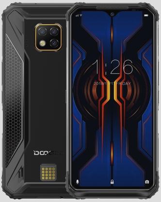 Doogee S95 Pro Rugged Phone Dual Sim 256GB Black (8GB RAM)