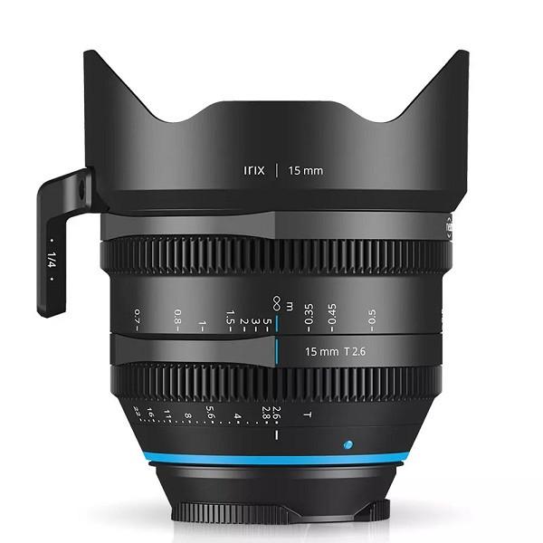 Irix Cine 15mm T2.6 (Canon RF) Meter