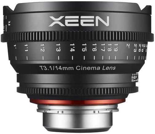 Samyang Xeen 14mm T3.1 (Nikon AE)
