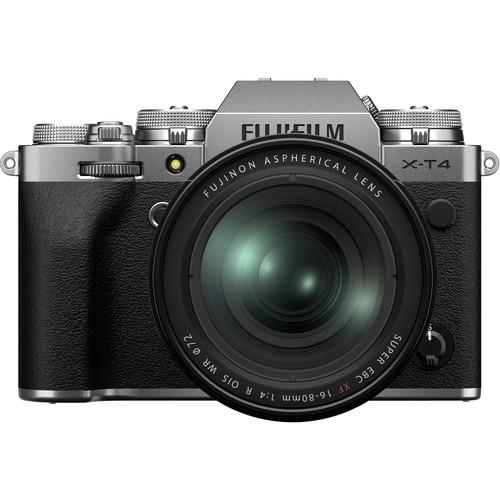 Fujifilm X-T4 Kit (XF 16-80mm f/4 R OIS WR) Silver