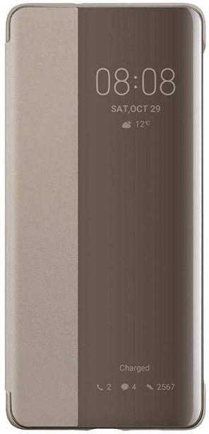 Huawei Mate 30 Pro Smart View Flip Cover Khaki