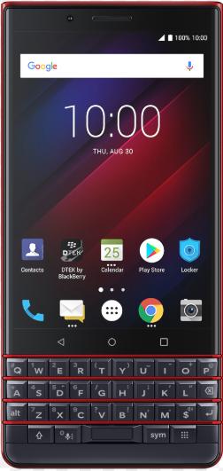 Blackberry Key2 LE BBE100-4 Dual Sim 64GB Atomic Red (4GB RAM)
