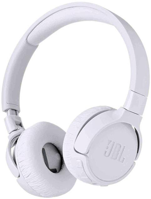 JBL TUNE 600BTNC Wireless Headphones (White)