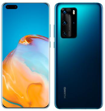 Huawei P40 Pro 5G ELS-NX9 Dual Sim 256GB Blue (8GB RAM)
