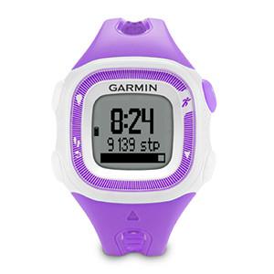 Garmin Forerunner 15 GPS Watch(Violet/White)