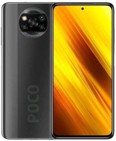 Xiaomi Pocophone X3 NFC Dual Sim 64GB Grey (6GB RAM) - Global Version + FREE Mi True Wireless Earbuds Basic