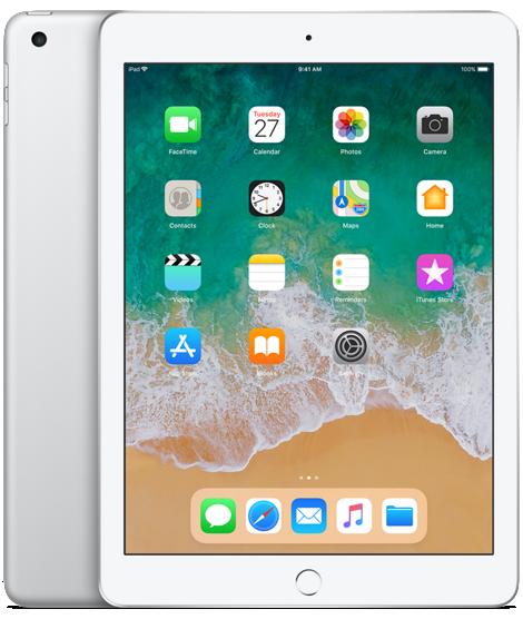 Apple iPad 9.7 2018 4G 32GB Silver (HK)