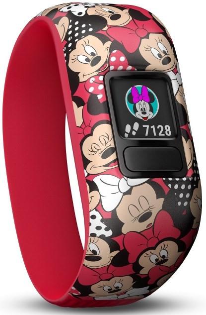 Garmin Vivofit Jr 2 Kid's Activity Tracker - Stretchy Minnie Mouse