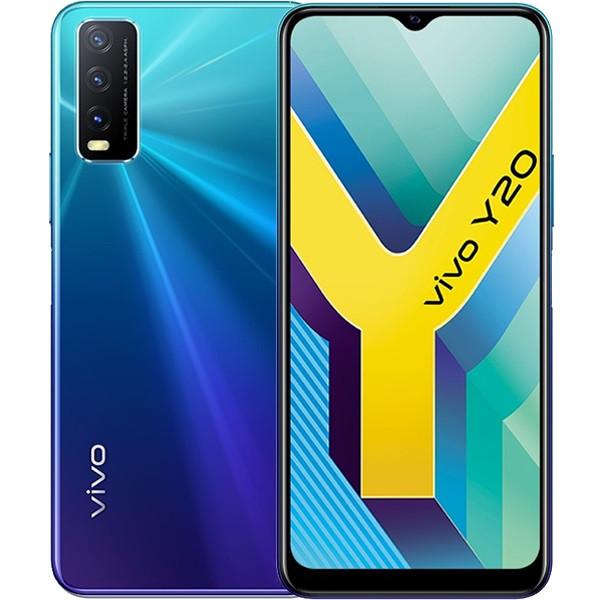 Vivo Y20 Dual Sim 64GB Blue (4GB RAM)