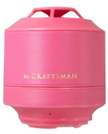 M.CRAFTSMAN Bluetooth Mini Speaker (Baby Pink)