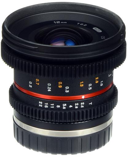 Samyang 12mm T2.2 Cine NCS CS (Canon M)