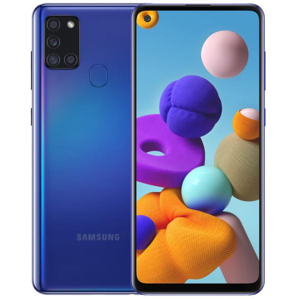 Samsung Galaxy A21S Dual Sim A217FD 64GB Blue (4GB RAM)