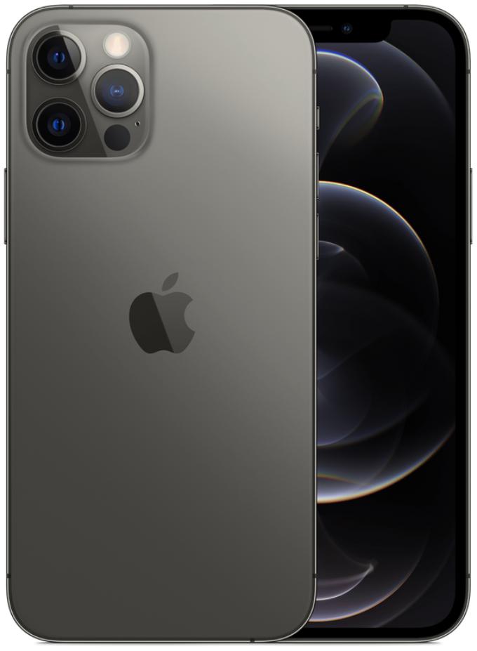 Apple iPhone 12 Pro 5G A2408 Dual Sim 256GB Graphite Grey