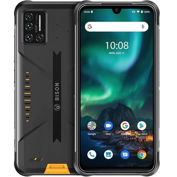 UMIDIGI BISON Dual Sim Rugged Phone 128GB Yellow (6GB RAM)