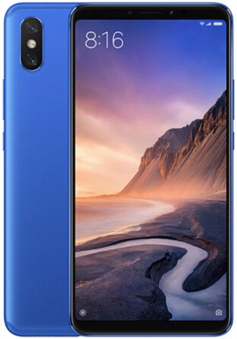 Xiaomi Mi Max 3 Dual Sim 128GB Blue (6GB RAM)