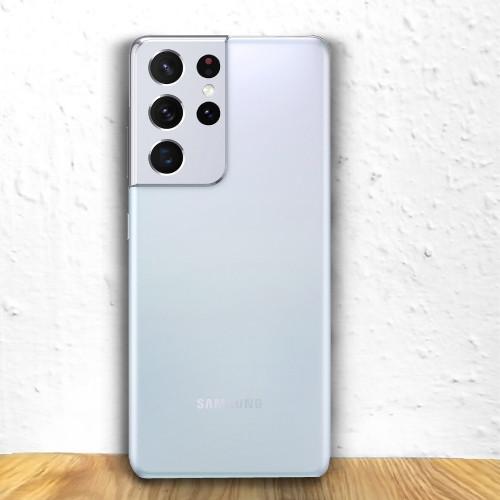 Samsung Galaxy S21 Ultra 5G Dual Sim G998B 128GB Silver (12GB RAM)