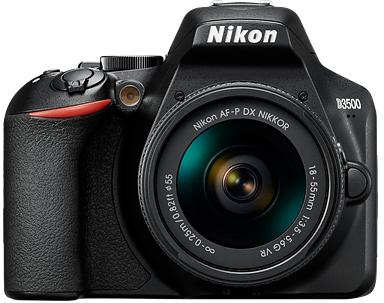 Nikon D3500 Kit (AFP 18-55)(55-200) фото